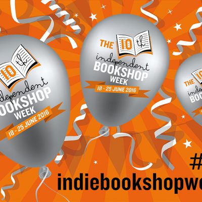 Independent Bookshop Week banner