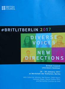 BritLitBerlin Konferenzmappe