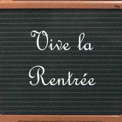 blackboard vive la rentree