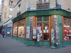 gutenberg bookshop in paris