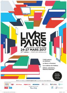 poster of paris book fair