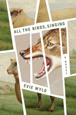 US American book cover of Evie Wyld's All the Birds Singing