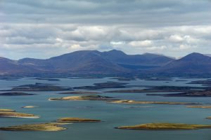 Literary Field Kaleidoscope | Clew Bay, Ireland | photo by Croagh Patrick