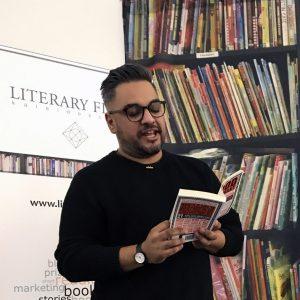 Nikesh Shukla reading from his short story