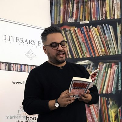 Nikesh Shukla reading from his short story