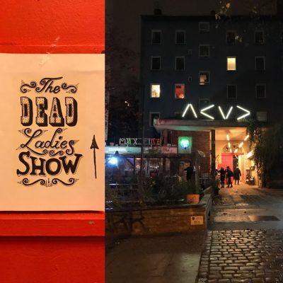 dead ladies show poster