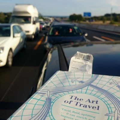 book cover of the art of travel by alain de botton