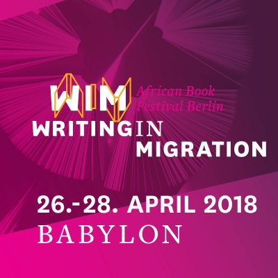 Writing in Migratino, April 2018 in Berlin