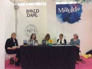 panel of Welsh children's writers at LBF18