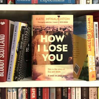 book cover how i lose you by kate mcnaughton