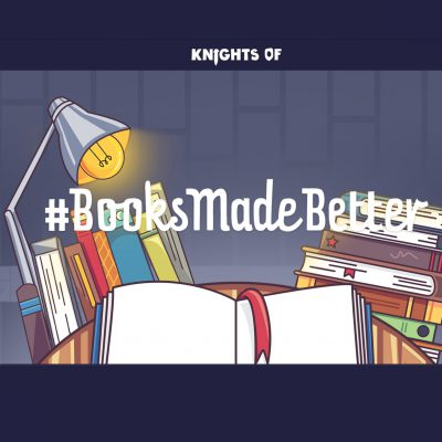 Books Made Better slogan