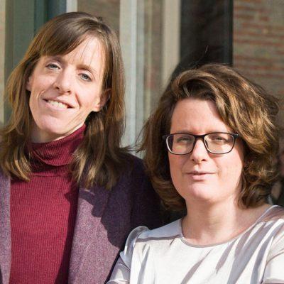 Janika Gelinek und Sonja Longolius, Foto Nina Zimmermann