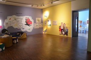 exhibition of Judith Kerr's work