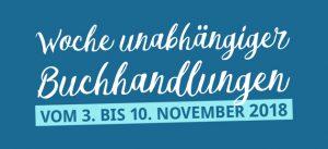 Logo Woche unabhängiger Buchhandlungen