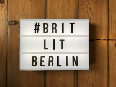 panel reading brit lit berlin