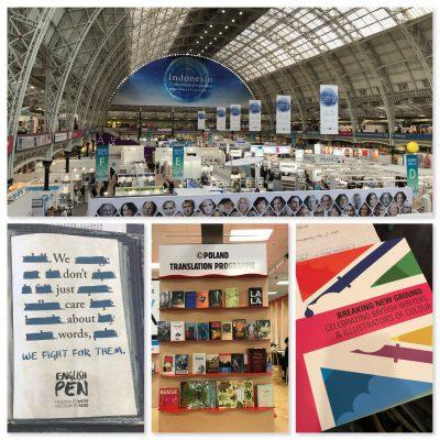 Eindrücke von der Londoner Buchmesse