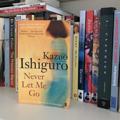 picture of Kazuo Ishiguro's novel Never Let Me Go