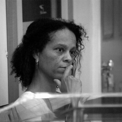 writer and Booker Prize winner Bernadine Evaristo