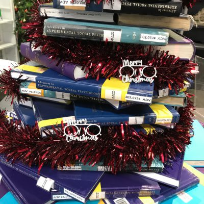 goldsmiths library christmas tree