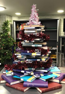 goldsmiths library christmas tree