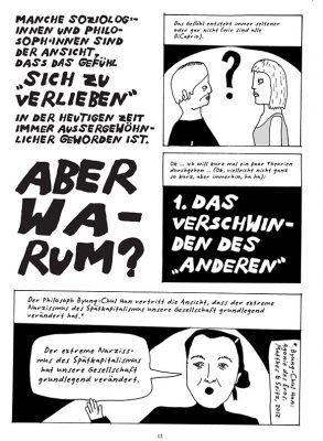 """Comicseit aus """"ich fühls nicht"""" von Liv Strömquist"""