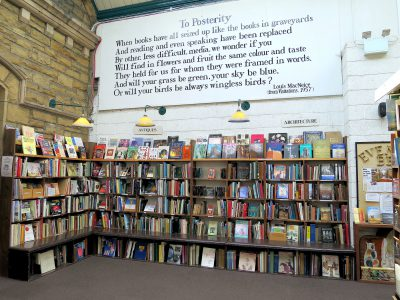 indie bookshop photo in Alnwick