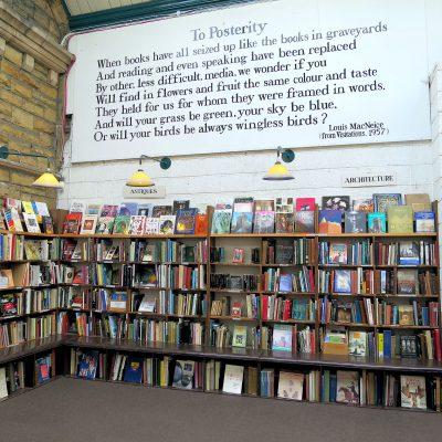 indie bookshop photo in Alnwick