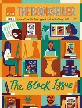 colourful cover of The Bookseller's The Black Issue