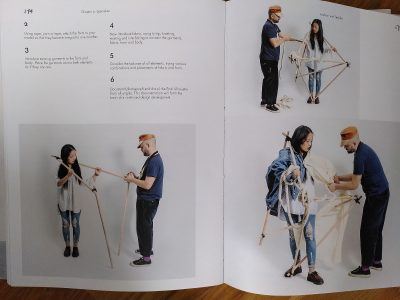 page with instructions for art students